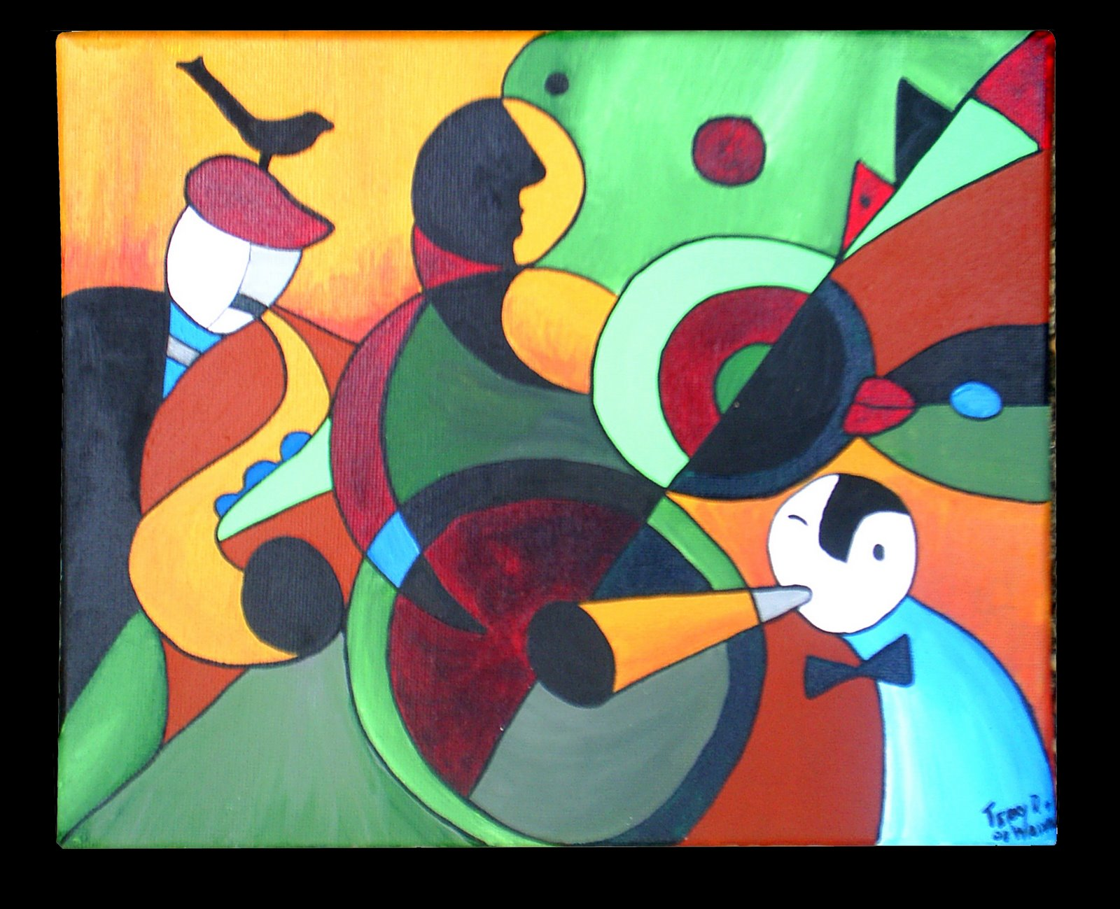 3 Piece Jazz Terrydoesart